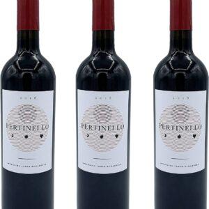 Tris 3 Bottiglie Pertinello Vino Rosso Sangiovese Superiore DOC Biologico 2018 13,5% 75cl