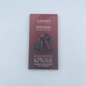 Gardini SPEZIALI Peperoncino Extra Fondente 62% Cacao 80 gr