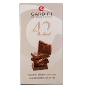 Gardini Cioccolato d'Autore 42 Blend Finissimo al Latte 80 gr