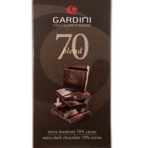 Gardini Cioccolato d'Autore 70 Blend Extra Fondente 80 gr