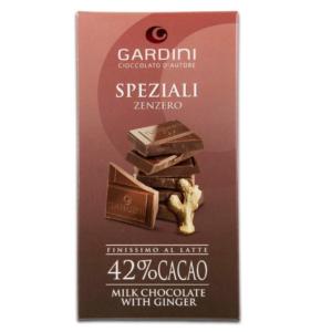 Gardini SPEZIALI Zenzero Finissimo al Latte 42% Cacao 80 gr