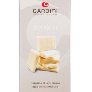 Gardini Cioccolato Bianco Finissimo al Latte 80 gr